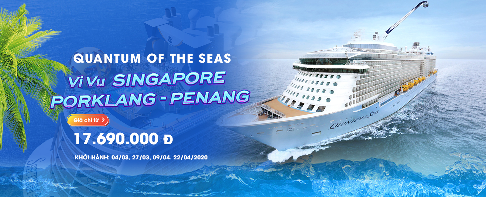 QUANTUM OF THE SEAS: VI VU SINGAPORE - PORKLANG - PENANG