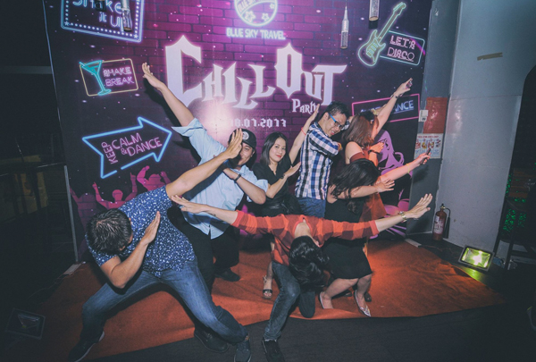 CHILL OUT PARTY - DANCING TIME